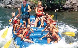 4 - Whitewater Rafting (A highlight of summer vacation)