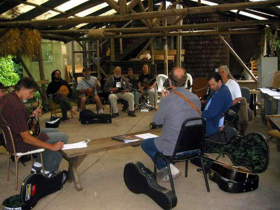 Acoustic Music Workshops (The MandoJam happens the last weekend of August)