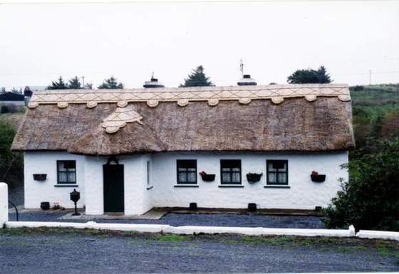 Cob Cottage (Cob has been used as a natural building material for centuries in Britain)