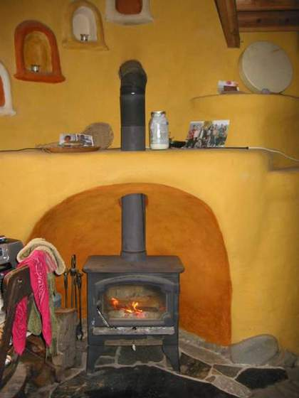 Cob Hearth