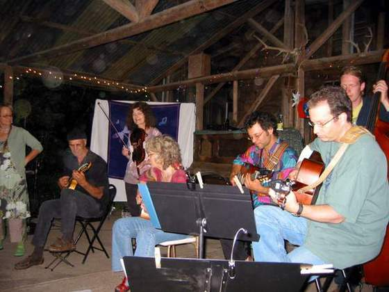 Evening performance (Blyteh, Paul, Linda, Lynda, Mark, Brian, & Brad)