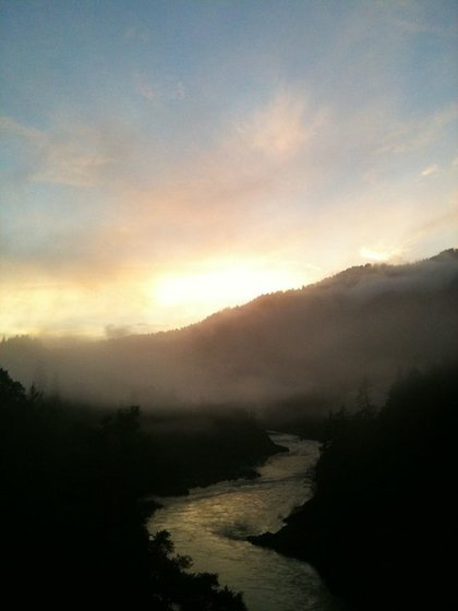 Klamath River (Photo by Ken Malcomson, our UPS man)