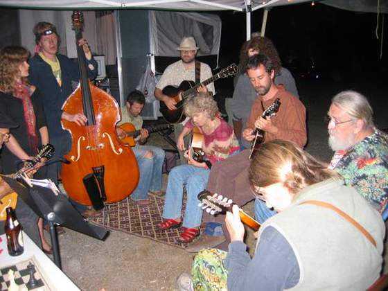 MandoJamming with the Flat Five String Band