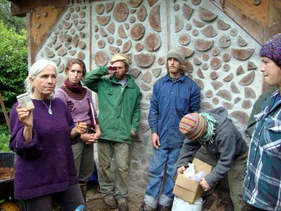 Natural Building Workshop (Penny Livingston explains natural plaster)