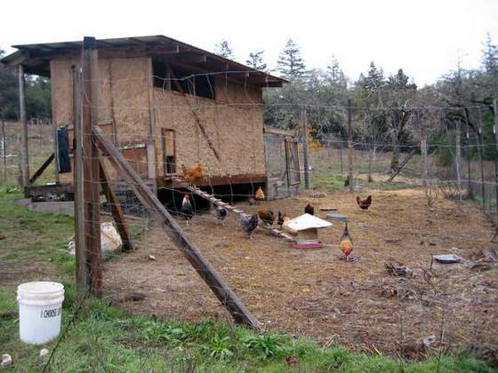 Slipstraw Chicken Coop (Natural building for poultry!)