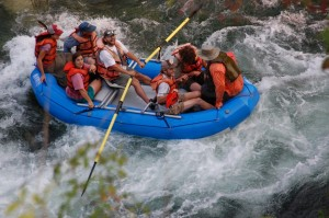 Whitewater Rafting on the Klamath River